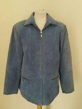 Plus Size Suede Hip Length Coats & Jackets for Women