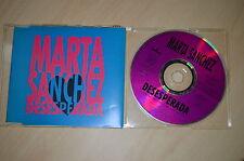 Marta Sanchez - Desesperada. CD-Single (CP1708)