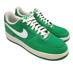 Nike Air Force 1 Lucky Green 07 Shoes Mens Size 10 Lace Up Basketball Sneakers