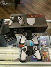 OUYA Silver 8GB Android Video Game Console System in Box + Extra Controller