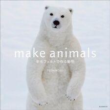 Make Animals Needle - Japanese Craft Book Felt Wool