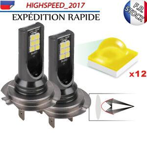 2 Ampoules H7 LED 110W 6000K anti erreur Voiture Feux Phare Lampe Xénon Blanc