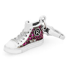 Ciondolo ROSATO charm argento scarpa da tennis tipo converse MY SHOES SH023