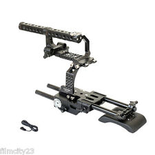 Camtree Professional Camera Cage rig for Sony FS700 with Top Handle Shoulder pad