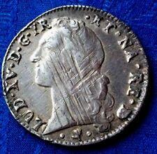 MONNAIE ROYALE UN ECU  LOUIS XV  1761 BEARN EN ARGENT