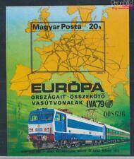 Hongrie Block137B neuf 1979 Développement le Chemin de fer (7715443