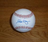 BREWERS Matt Garza signed baseball AUTO MLB Hologram Autographed Milwaukee