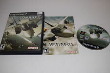 Ace Combat 5 The Unsung War Sony Playstation 2 PS2 Video Game Complete