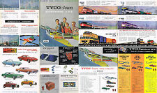 Rare 8pg 1963-1964 TYCO Town Everywhere USA HO Slot Car +Train Catalog Unused A+