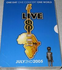 LIVE 8: July 2nd 2005 COMPLETE Collection DVD 9-CONCERTS 4-DISC BOX SET Region 0