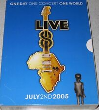 LIVE 8: July 2nd 2005 COMPLETE Collection DVD RARE 9-CONCERTS 4-DISCS BOX SET R0