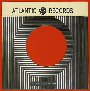 ATLANTIC RECORDS (stripes) - REPRODUCTION RECORD COMPANY SLEEVES - (pack of 10)