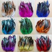 Wholesales 50PCS beautiful pheasant tail & peacock feather 13-20cm DIY Hat Decor