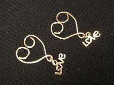 2 x Heart Nipple Shields Body Jewelry Non Piercing Nipple Fake Nipple rings UK