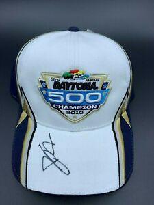 2010 Daytona 500 Champion hat autographed by Jamie McMurray