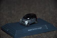 Busch smart fortwo coupé C453 prime black/Titania grey matt PC