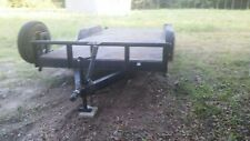 Car Hauler Equipment Utility Steel Trailer