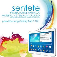 Lámina Protector de Pantalla Tablet Galaxy Tab 3 10.1 (P5200/P5220) - SENTETE -