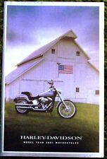 2001 Harley Davidson Model Year Motorcycles Brochure 01