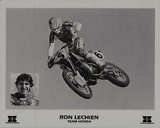 1985 RON LECHIEN TEAM HONDA MOTOCROSS Original PRINT CR250R CR500R CR125R