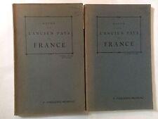 NOTICE SUR L'ANCIEN PAYS DE FRANCE 2 VOL 1923 FREDERIC MOREAU EO DEDICACE