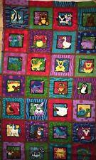 Andover AlphaBuddies Flannel Quilt Sew Fabric Panel