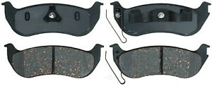Disc Brake Pad Set-Ceramic Disc Brake Pad Rear ACDelco Advantage 14D981CH