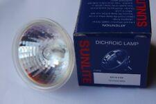 5 x Sunlite EXZ aperto sul davanti 50 W MR16 GU5.3 12 V inondazione di 25 gradi lampadine alogene