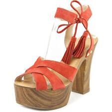 Calzado de mujer sandalias con tiras GUESS de tacón alto (más que 7,5 cm)