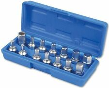 "LASER 3175 Drain Plug Key Set 3/8""D 14pc Gearbox Sump Plugs Master Set"