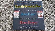 Earth Wind & Fire/ Jean Carn/ Rose Royce 12'' Mixes Disco Vinyl & Interviews