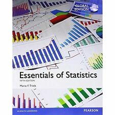 Essentials of Statistics, Global Edition by Mario F. Triola (Paperback, 2014)
