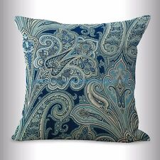 US SELLER- vintage floral paisley cushion cover home decoration pillow cases