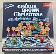 New Peanuts A Charlie Brown Christmas Christmas Journey Board Game