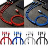 3-in-1-Micro-USB-Daten Synchronisierungs-Ladekabel C) (Typ Andro für iPhone G2X1