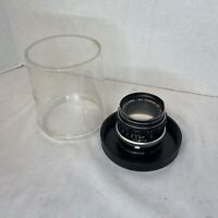 Minolta Mc-Rokkor-PF 55mm f/1.7 Standard Lens MF From Japan W Case