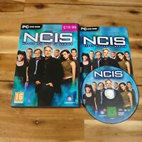 NCIS Game Based On The TV Series PC DVD Computer Video Game PAL Complete