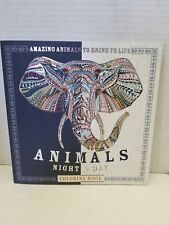 The Night and Day Coloring Book Dazzling Animals to Color in and Bring to Life