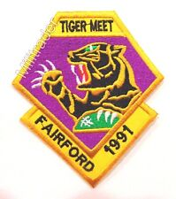 NATO Tiger Meet 1991 Fairford, England Patch