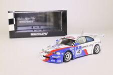 Minichamps; BMW M3 GTR; 2004 24hr Nurburgring 2nd; RN43; Excellent Boxed