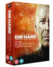 Die Hard 1 to 5 Legacy Collection - DVD Fast Post for Australia