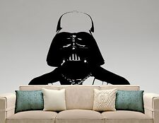 Darth Vader Wall Decal Star Wars Vinyl Sticker Movie Art Bedroom Decor 3ewsx