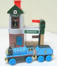 Thomas & Friends, Wooden, Talking Railway Series, Suddery Station, 2008, EUC