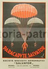 AERONAUTICA_AVIAZIONE_PARACADUTE SALVATOR_FIAT-SAVA_STAMPA PUBBLICITARIA_1928