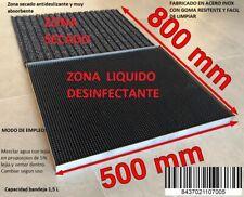 Felpudo Desinfectante Líquido Desinfectante Entrada 500x400x25 mm