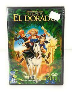 The Road To El Dorado (DVD, 2000) Kevin Kline New & Sealed Region 4 Free Postage
