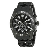 Invicta Sea Spider Chronograph Black Dial Mens Watch 14862