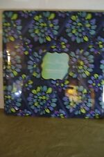 "Vera Bradley Square Ribbon Board Indigo Pop #12480-126 Sealed 18"" X 18"""