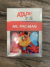 Ms. Pac-Man Atari Corp. Atari 2600 Video Game New in Box