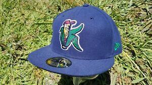 New Era 7 7/8 Cedar Rapids Kernels Cap Hat Milb Minnesota Twins Corn Navy Blue K